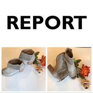 Report booties